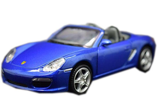 Kids Red /Yellow/ Blue 1:32 Scale Die-Cast Porsche Boxster S Toy