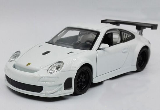 White Silver Black Orange 1 32 Scale Porsche Rsr 911