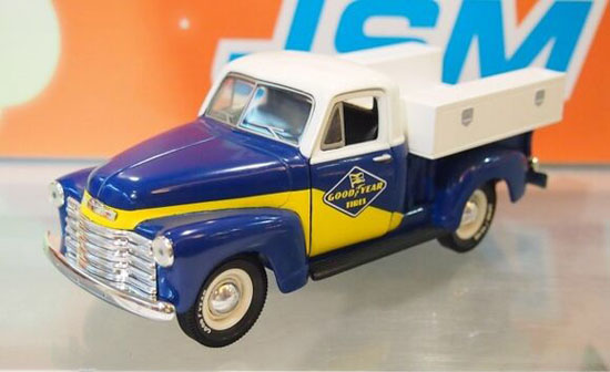 1:25 Scale Blue-White Saving Box 1952 Chevrolet Pickup Truck Toy