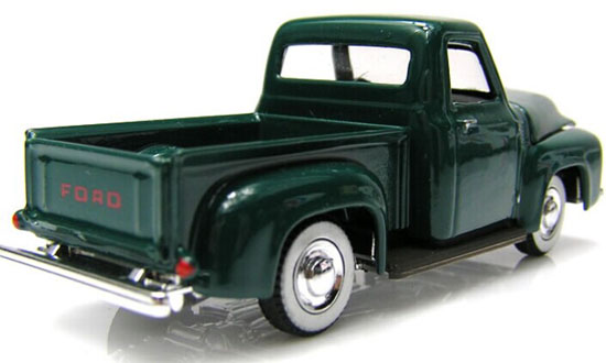1:64 Scale Dark Green Kids Diecast Ford Pickup Truck Toy