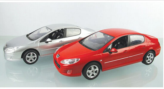 Full Functions 1 14 Scale Kids Red Silver R C Peugeot