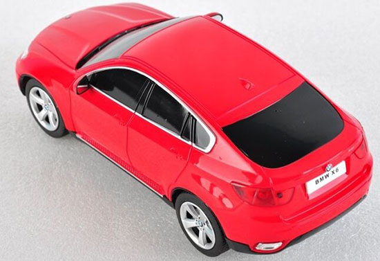 1:16 Scale Red / Black / Silver / White Rechargeable R/C BMW X6