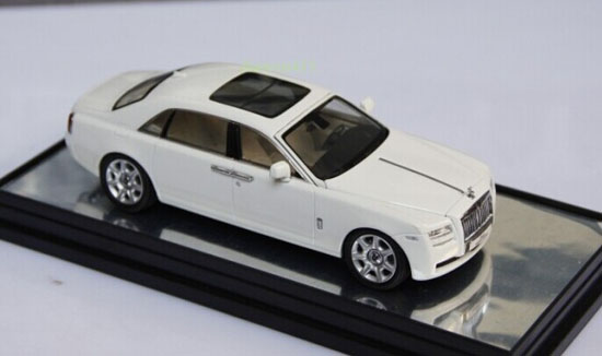 White 1:43 Scale KYOSHO Diecast Rolls-Royce Ghost Model