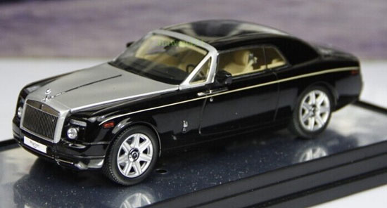 Black 1:43 Scale KYOSHO Diecast Rolls-Royce Phantom Model