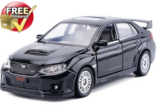 1:36 Kids Blue / Red / Black / White Subaru Impreza WRX STI Toy