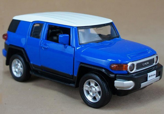1:32 Scale Kids Blue / Yellow / Red Toyota FJ Cruiser SUV Toy