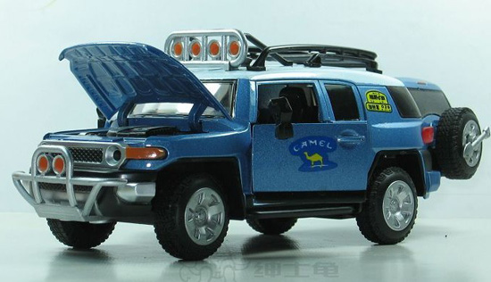 Kids 1:32 Scale Red /Green / Blue Diecast Toyota FJ Cruiser Toy