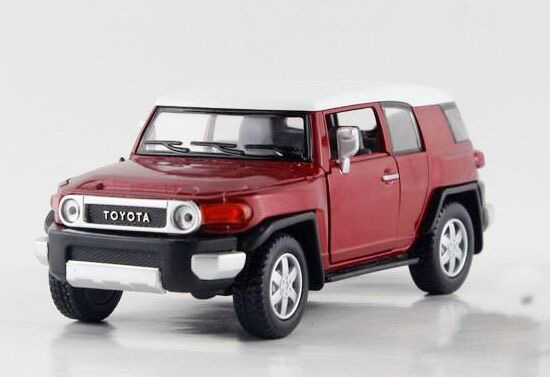 1:38 Scale Red / Blue / Yellow / Black Kids Toyota FJ Cruiser