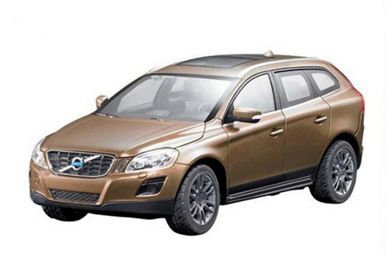 RASTAR Silver / Brown 1:43 Scale Diecast Volvo XC60 Toy