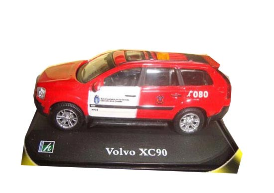 Red 1:72 Scale Cararama Diecast Volvo XC90 Toy