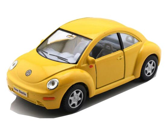 1:32 Kids Red / Green / Yellow /Black Diecast VW New Beetle Toy