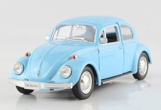 1:32 Red / Yellow / Blue / Creamy White Diecast VW Beetle Toy
