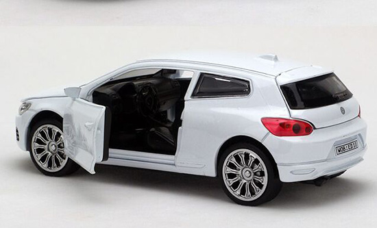 Kids White / Yellow / Black / Red / Blue / Green VW Scirocco Toy