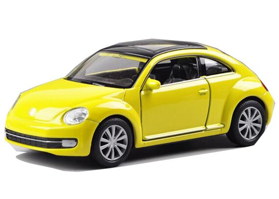 1:36 Pink / Red /Yellow / White Welly Diecast VW New Beetle Toy
