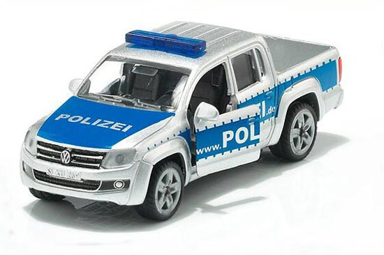 Kids Mini Scale Silver SIKU 1401 Diecast VW Pickup Truck Toy