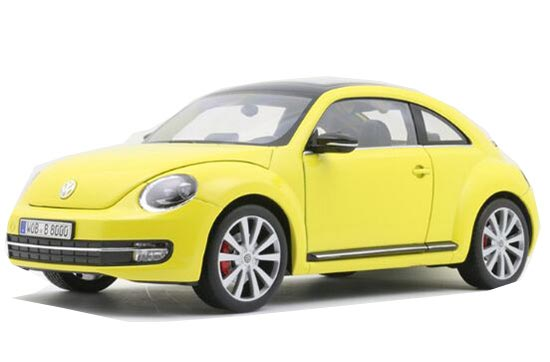 1:18 Yellow / Pink/ Green / White / Red Diecast VW New Beetle